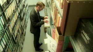 Beeld archieven uit een documentaire over dr. Nand Peeters uitvinder van de anticonceptiepil