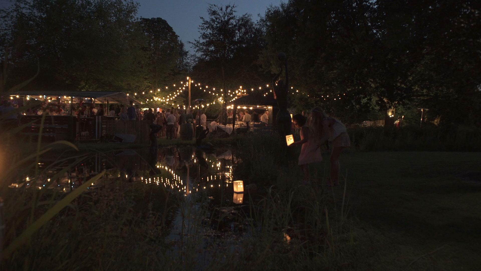 bedrijfsfilm online video night lights